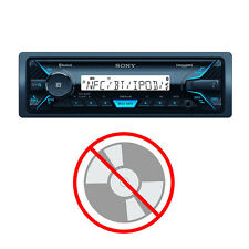 Sony In-Dash Single DIN Marine Media Receiver with Bluetooth and USB   DSXM55BT