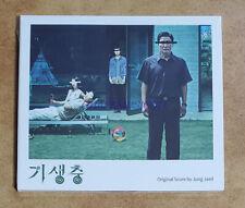 PARASITE BONG JOON HO KOREA MOVIE OST CD + FOLDED POSTER SEALED