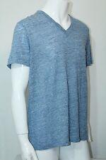 Theory Men T-Shirt Koree VS Electric XLarge NWT V-Neck Zephyr Melange F0593558