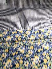 "Elizabeth Ann Shower Curtain Tommy Hilfiger 100% Cotton 72"" x 74"" Floral"