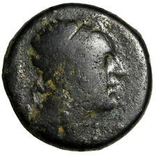 Large 21mm Seleucid King Antiochos Iv Epiphanes Portrait Greek Coin Certified