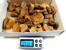 Nature ambre Butterscotch & Cherry ► Natural raw Baltic Amber stones 233,64g