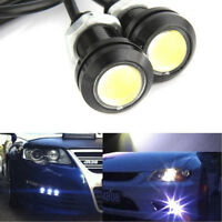 2x White 15W DC 12V Eagle Eye LED Daytime Running DRL Backup Light Car Auto Lamp