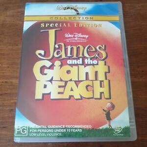 James and the Giant Peach DVD R4 Like New! FREE POST