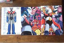 Mazinger Mazinga Z Pazzo Mondo Go Nagai DVD BOX JAP Serie COMPLETA Robot Anime