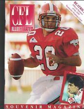CFL Illustrated Souvenir Magazine Program Doug Flutie BC v Calgary August 1993