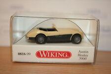 Wiking 081609, Austin Healey 3000, elfenbein, neu, OVP