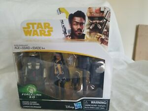 Star Wars FORCE LINK 2.0 Lando Calrissian and Kessel Guard 2-Pack NEW Sealed