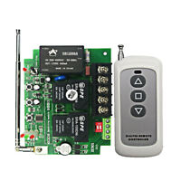 AC 220-380V 2 CH Wireless Remote Control Relay Switch Transmitter + Receiver