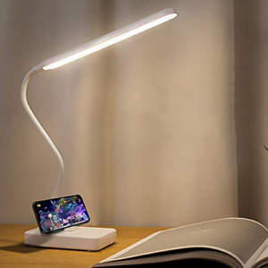 Cordless USB Rechargeable Led Desk Table Reading Lamp 2000mah Battery Powered, 3