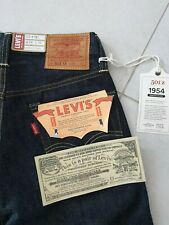 NWT LVC Levi's Vintage Clothing 1954 501 W28L32 Big E Selvedge Made in USA