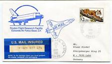1991 Dryden Flight Research Facility Edwards Air Force Base Space Mail NASA USA