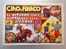 CINO E FRANCO ANNO I n°  9  - ANASTATICA DEL 1974 - OTTIMO
