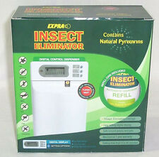 Expra Insect Repellent Dispenser - fly & bug spray on timer (natural pyrethrins)