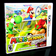 MARIO TENNIS OPEN   (Nintendo 3DS)    ***NEW FACTORY SEALED***