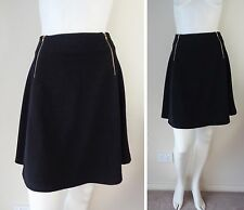 CITY CHIC sz 14 XS Black A-lined  Mini Women Ladies Skirt NWOT 99