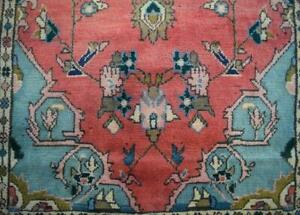 3'7 x 7'10 S Antique Kurdish Tribal Handmade Oriental Wool Runner Area Rug 4 x 8