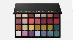 Sephora Collection PRO Editorial 2.0 Deluxe Eyeshadow Palette, New in Box