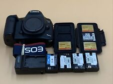 Canon EOS 5D Mark III ,Body22.3MP  DSLR with 4 Batteries+ Accessories, READ Desc