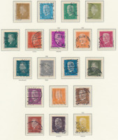 Germany Stamps Scott #366 To 384, Used