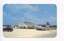 Tifton GA the Alpine Restaurant on US 82 & 319 Old Cars Postcard