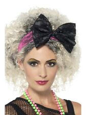 80'S Lace Headband Smiffys Fancy Dress Costume