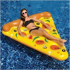 NUOVO Gonfiabile Pizza Slice Acqua Galleggiante RIGA divertente piscina spiaggia Pad TUBI DELL'ARIA