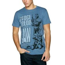 - 2000ad Judge Dredd He Is The Law T-shirt Unisex X Large