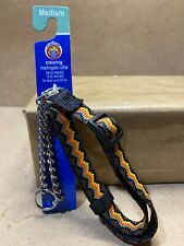 "Medium Dog Training Martingale Collar Up to 50lbs Neck Range 18""-26"" Zig Zag B2"