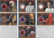 Topps Planet of the Apes Movie Rare 7 Card Costume Set