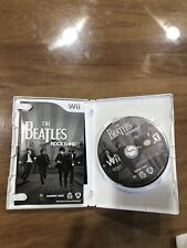 Nintendo Wii Game The Beatles Rockband Awesome!!!