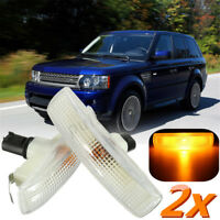2x Side Indicator Repeater Light Bulb For Range Rover Freelander Discovery 3 *