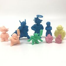 Dbz Vintage Rubber Keshi Figure Toy Lot - Dragon Ball Kai Ur Goku Ginyu Roshi