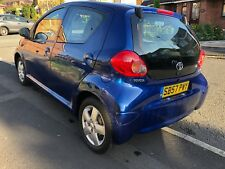 Totoya Aygo 1.0 Blue 5 Door Manual Service History & MOT £20 Road Tax VGC