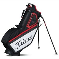 New Titleist Golf Players 5 Stand Bag Red White Black TB7SX6-016