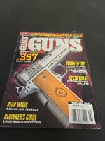 GUNS Magazine, February, 2016, COONAN .357 CARRY COMPACT, HYPERVELOCITY BULLETS!