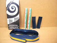 New-Old-Stock Ambrosio Padded Bar Tape - Dark Blue