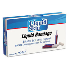 PhysiciansCare by First Aid Only Liquid Bandage 0.017 oz Pipette 4/Box 90447