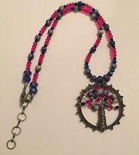 Beaded Costume Jewelry Necklace - Tree Of Life