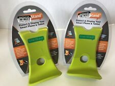 Lot Of 2 Phone And Tablet Stand Chartreuse Universal Stand