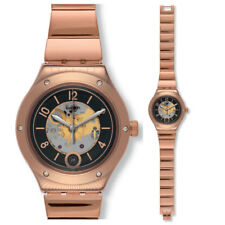 Swatch Fashion Tech Tono tono Phil Uhr YAG400G Analog Orologio a scheletro