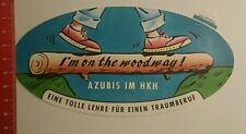 Autocollant/sticker: stagiaires au hkh dans on the woodway (270816135)