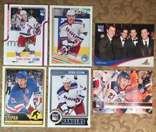 6 Derek Stepan Cards 3 OPC [2012-3, 13-14, 14-15], 12-13 UD, 2011-12 Score + 1