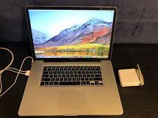 """🍎Apple MacBook Pro 17"""" i7 QUAD 2.2Ghz-3.4GHz 16GB RAM New 2TB FULL SSD🍎🍏"""