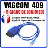 Auto outil diagnostique câble usb kkl com 409.1 OBD2 ii obd pour vw/audi/seat
