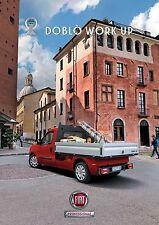 Fiat Doblo Work Up 10 / 2011 catalogue brochure