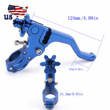 Aluminum Motorcycle Stunt Clutch Lever Cable Performance Easy Pull Left Side