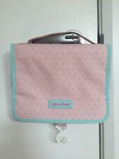 Cute pastel pink toiletry bag NEW