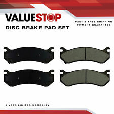 Front, Rear Ceramic Brake Pads for Cadillac Escalade Chevy Astro GMC Hummer H2