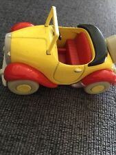Vintage Corgi Toyland Noddy Car Yellow and Red